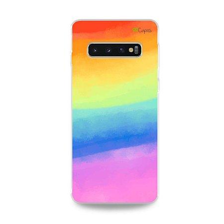 Capinha para Galaxy S10 Plus - Rainbow