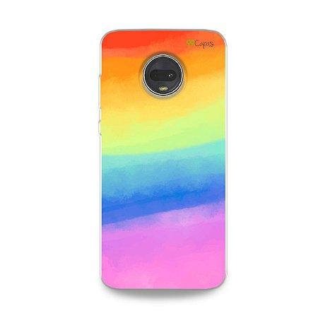 Capinha para Moto G7 Plus - Rainbow