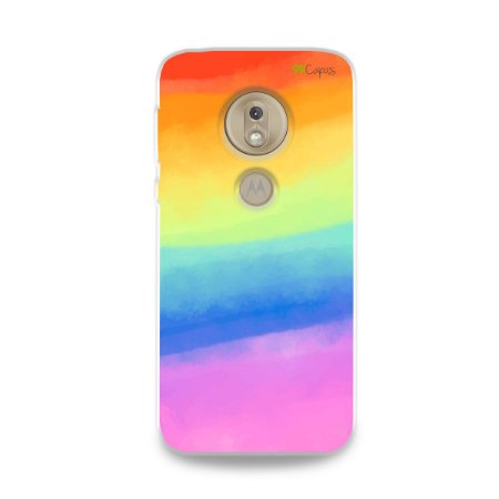 Capinha para Moto G7 Play - Rainbow