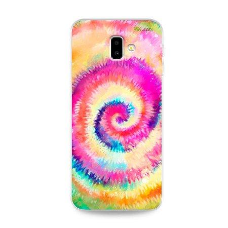 Capinha para Galaxy J6 Plus - Tie Dye