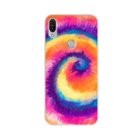 Capinha para Zenfone Max Pro - Tie Dye Roxo