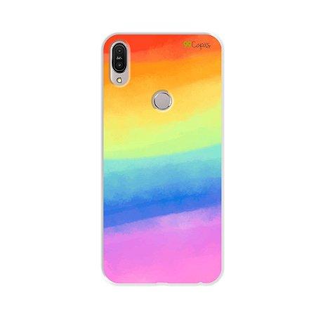 Capinha para Zenfone Max Pro - Rainbow