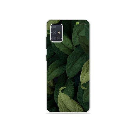 Capinha para Galaxy A51 - Folhas