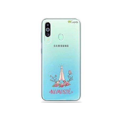 Capinha (transparente) para Galaxy M40 - Namastê