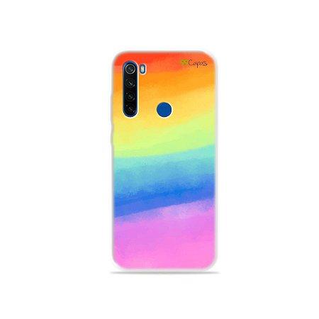 Capinha para Xiaomi Redmi Note 8T - Rainbow