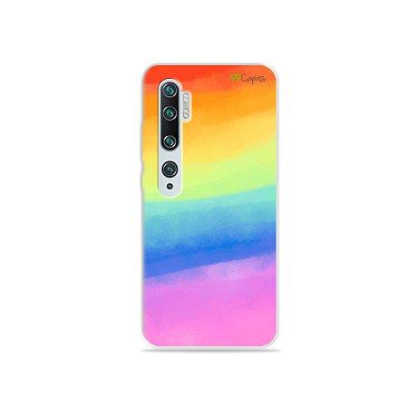 Capinha para Xiaomi Mi Note 10 - Rainbow