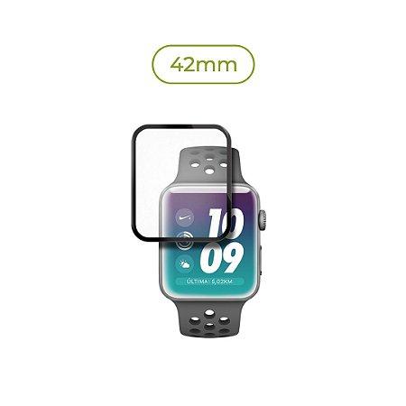 Película de Nanogel (borda preta) para Apple Watch - 42mm