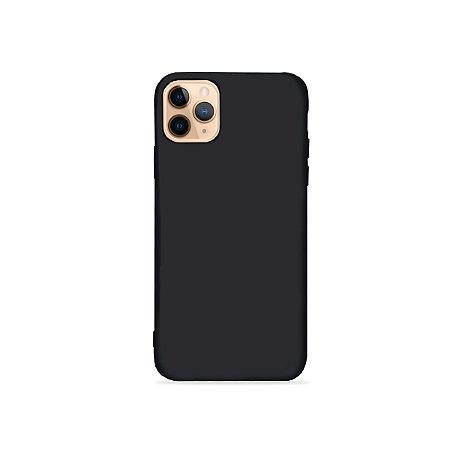Silicone Case Preta para iPhone 11Pro (acompanha Pop Socket) - 99Capas