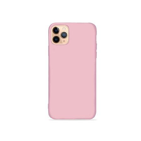 Silicone Case Rosa Pétala para iPhone 11Pro (acompanha Pop Socket) - 99Capas