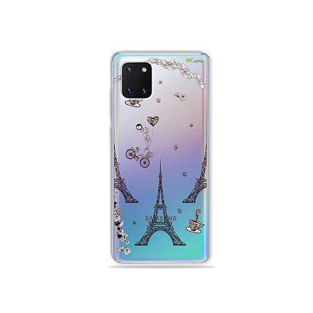 Capinha Paris para Galaxy Note 10 Lite