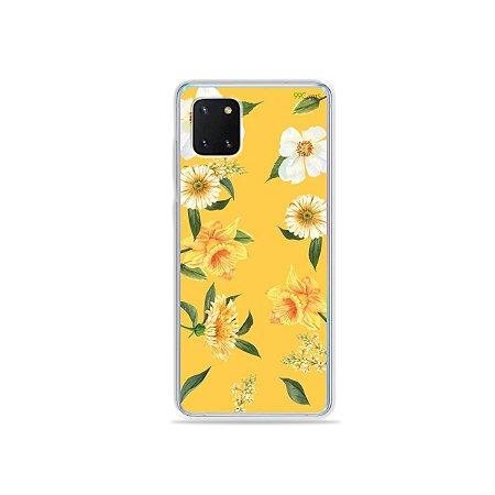 Capinha Margaridas para Galaxy Note 10 Lite