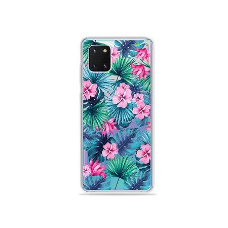 Capinha Tropical para Galaxy Note 10 Lite