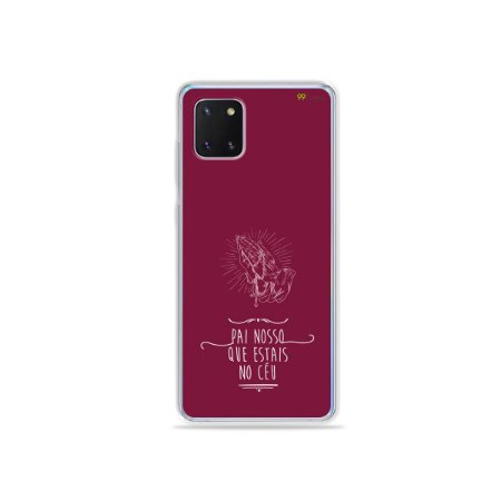 Capinha Pai Nosso para Galaxy Note 10 Lite
