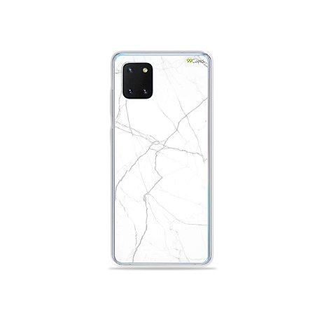 Capinha Marble White para Galaxy Note 10 Lite