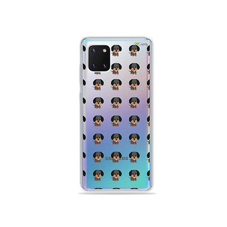 Capinha Salsichinha para Galaxy Note 10 Lite