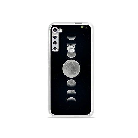 Capinha para Moto One Fusion Plus - Fases da Lua