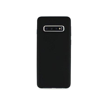 Silicone Case Preta para Galaxy S10 - 99Capas