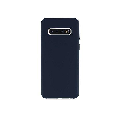 Silicone Case Marinho para Galaxy S10 - 99Capas