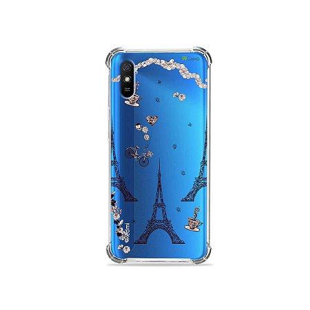 Capinha (transparente) para Redmi 9A - Paris
