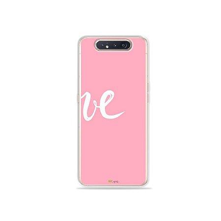 Capinha Love 2 para Galaxy A80