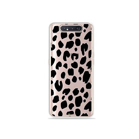 Capinha (Transparente) Animal Print Basic para Galaxy A80