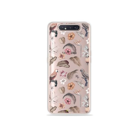 Capinha (Transparente) Sweet Bird para Galaxy A80