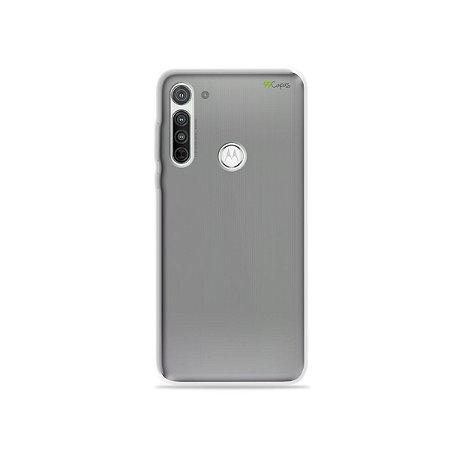 Capa Fumê (semi-transparente) para Moto G8