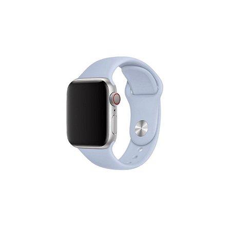 Pulseira Lilás de Silicone para Apple Watch - 44mm