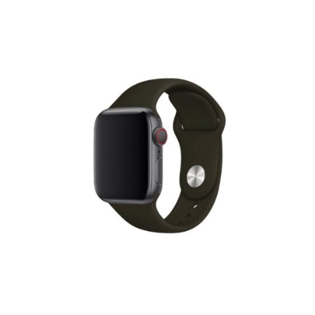 Pulseira Preta de Silicone para Apple Watch - 40mm