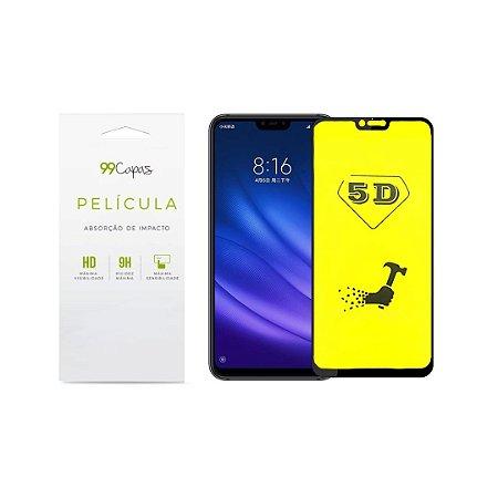 Película de Gel 5D (flexível) para Xiaomi Mi 8 Lite - 99Capas