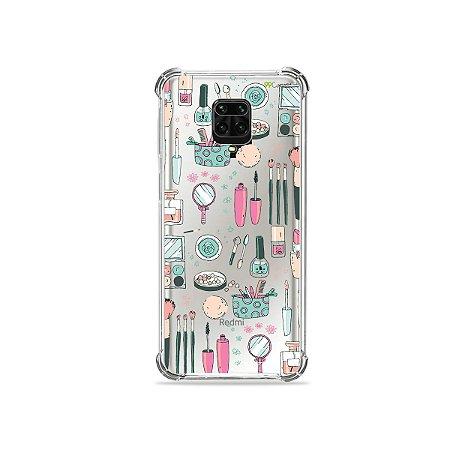 Capinha (Transparente) para Redmi Note 9 Pro - Make Up