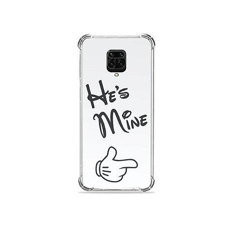 Capinha para Redmi Note 9 Pro - He's Mine