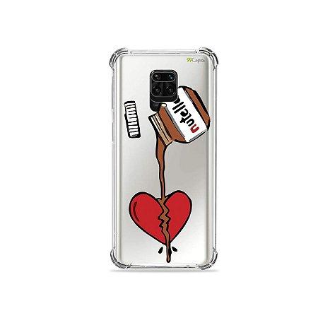 Capinha (Transparente) para Redmi Note 9 Pro - Nutella