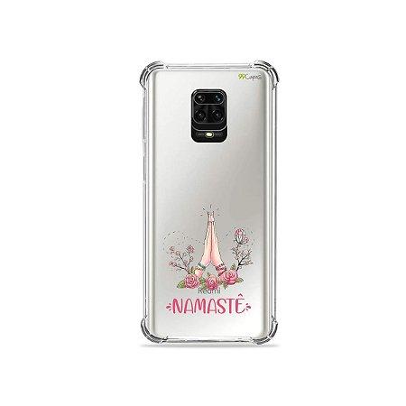 Capinha (Transparente) para Redmi Note 9 Pro - Namastê