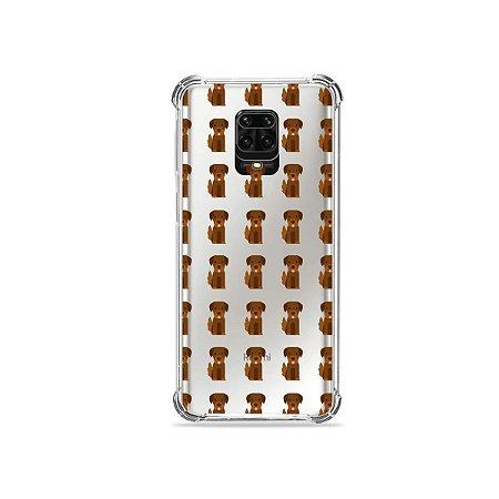 Capinha (Transparente) para Redmi Note 9 Pro - Golden