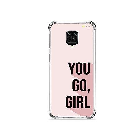 Capinha para Redmi Note 9S - You Go, Girl