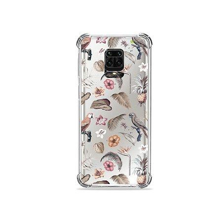 Capinha (Transparente) para Redmi Note 9S - Sweet Bird