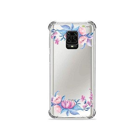 Capinha (Transparente) para Redmi Note 9S - Bromélias