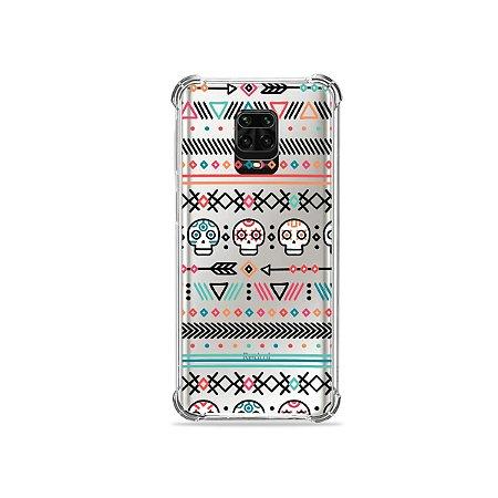 Capinha (Transparente) para Redmi Note 9S - Tribal