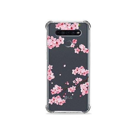 Capinha (Transparente) para LG K41s - Cerejeiras