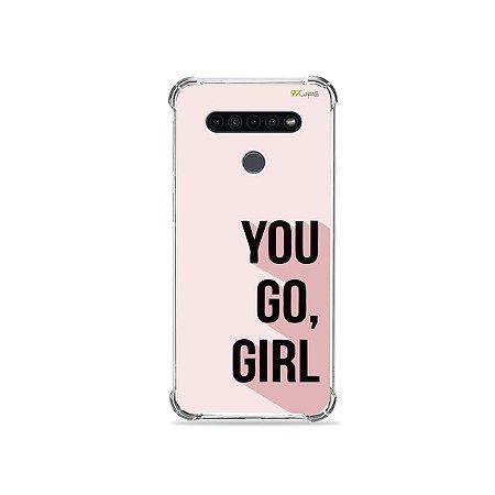 Capinha para LG K41s - You Go, Girl