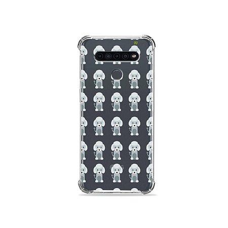 Capinha (Transparente) para LG K41s - Poodle