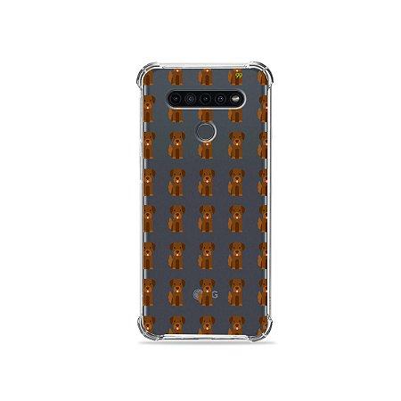 Capinha (Transparente) para LG K41s - Golden
