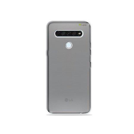 Capa Fumê Anti-Shock para LG K61 {Semi-transparente}