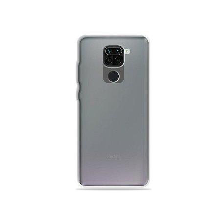 Capa Anti-Shock Fumê para Xiaomi Redmi Note 9 {Semi-transparente}