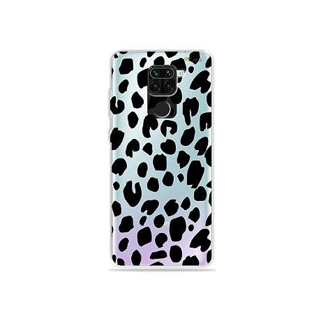 Capinha (Transparente) para Xiaomi Redmi Note 9 - Animal Print Basic