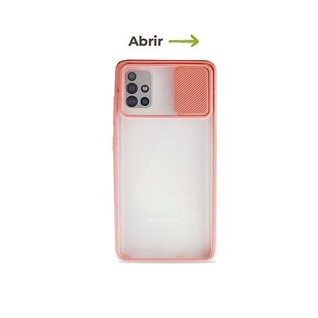 Capinha Soft Rosa com proteção de câmera para Galaxy A51 - 99Capas