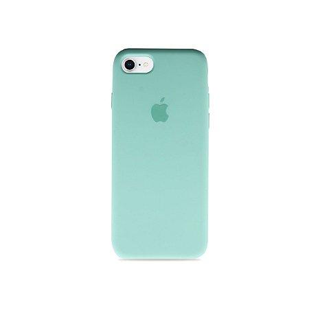 Silicone Case Verde Água para iPhone 7 - 99Capas