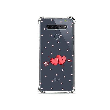 Capinha (Transparente) para LG K51s - In Love