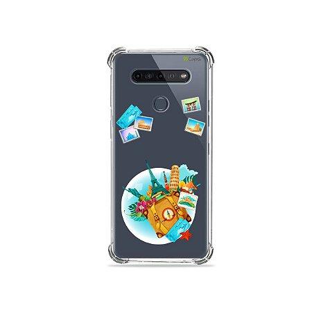 Capinha (Transparente) para LG K51s - Memórias